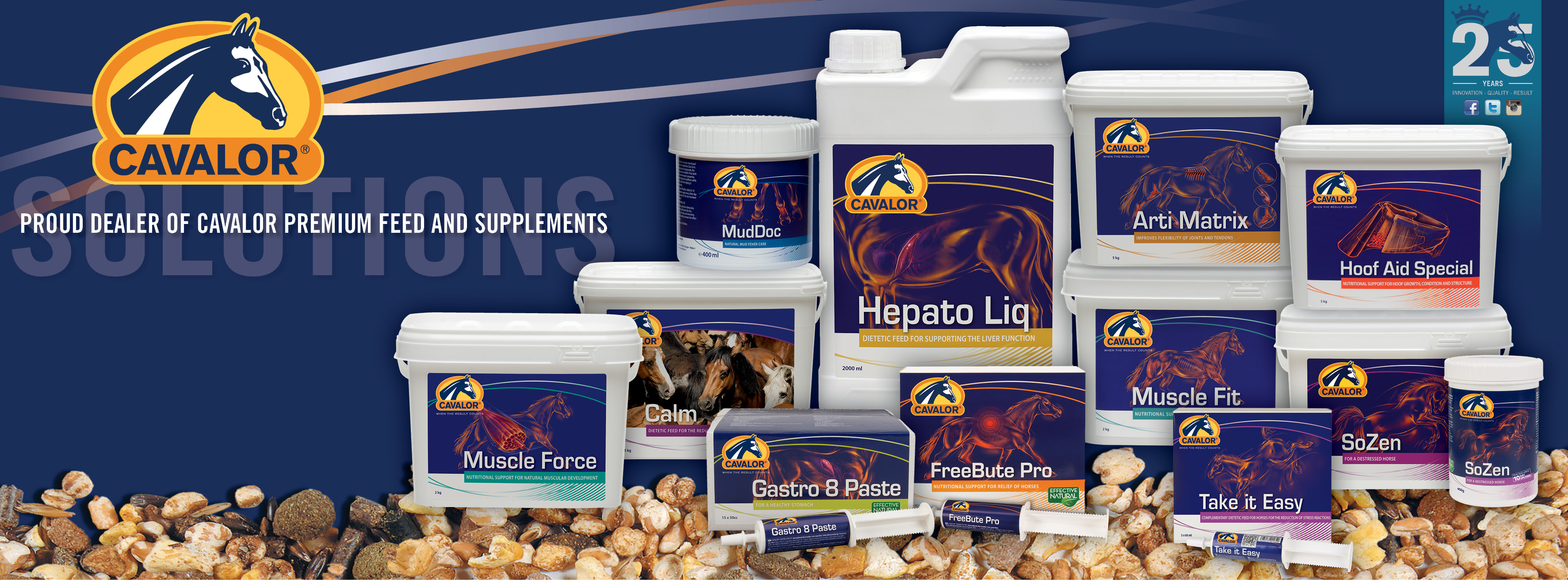 Horsemarket Official Cavalor Feed And Supplements