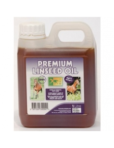 PAPILDAS ŽIRGAMS PREMIUM LINSEED OIL
