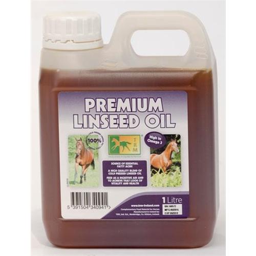 PAPILDAS ŽIRGAMS PREMIUM LINSEED OIL