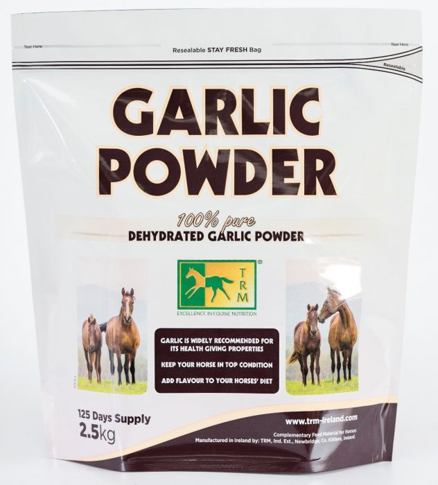 PAPILDAS ŽIRGAMS GARLIC POWDER