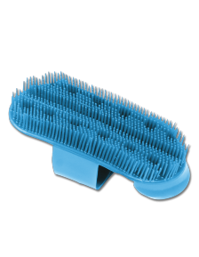 ЩЕТКА ДЛЯ УХОДА ЗА ЛОШАДЬЮ PLASTIC CURRY COMB