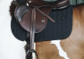 SADDLE PAD FISHBONE JUMPING