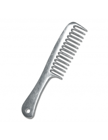 MANE BRUSH WH WITH METAL HANDLE