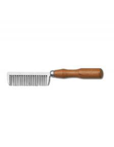 MANE BRUSH WH WITH METAL HANDLE 2