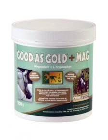 HORSE SUPPLEMENT GOOD AS GOLD + MAG 500 g