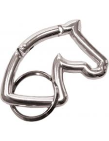 KEYRING EKKIA HORSE HEAD CARABINER