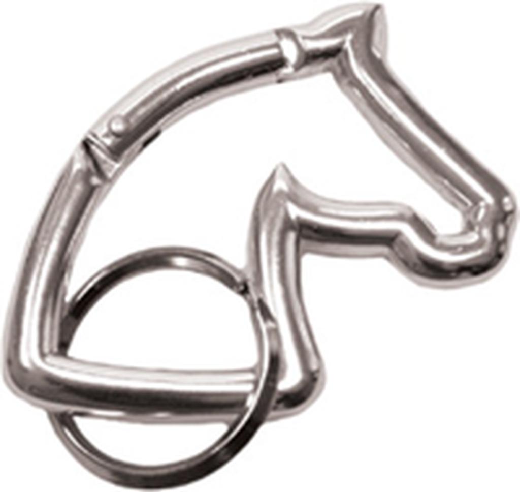 RAKTŲ PAKABUKAS EKKIA HORSE HEAD CARABINER